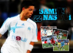 Wallpapers Sports - Leisures Samir Nasri - Olympique de Marseille
