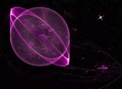 Fonds d'écran Art - Numérique Planète gazeuse
