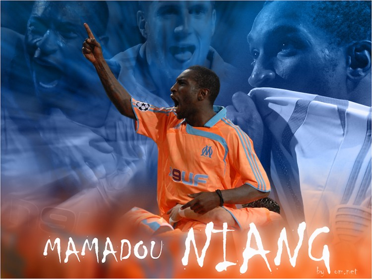 Wallpapers Sports - Leisures Football - OM Mamadou Niang