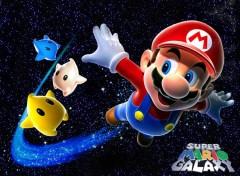 Fonds d'écran Jeux Vidéo Mario in the sky