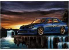 Fonds d'écran Art - Numérique Subaru Impreza