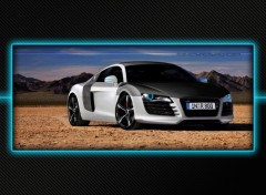 Fonds d'écran Voitures WIDE - Audi R8 - Virtual tuning