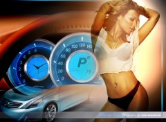 Wallpapers Cars pin-up car wallpaper 2007