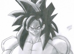 Wallpapers Art - Pencil Sangoku sayen 4