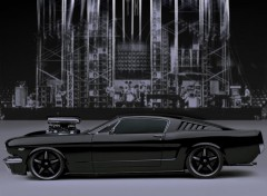 Fonds d'écran Voitures Mustang Batma-TH- Concept