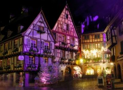 Wallpapers Constructions and architecture Lumieres sur la Ville de Colmar