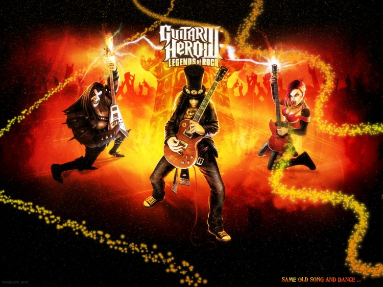 Fonds d'écran Jeux Vidéo Guitar Hero 3 - Legends of Rock Wallpaper N°189117