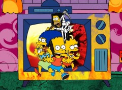 Wallpapers Cartoons Simpsons Atack !