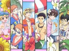 Fonds d'écran Manga le club d'hote en vacances