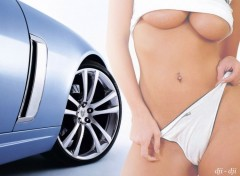 Wallpapers Erotic Art Pin-Up Cars