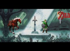 Wallpapers Video Games link the begining