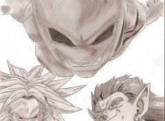 Wallpapers Art - Pencil BUU BROLI BOJAKvotez svp