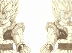 Wallpapers Art - Pencil GOGETA votez svp