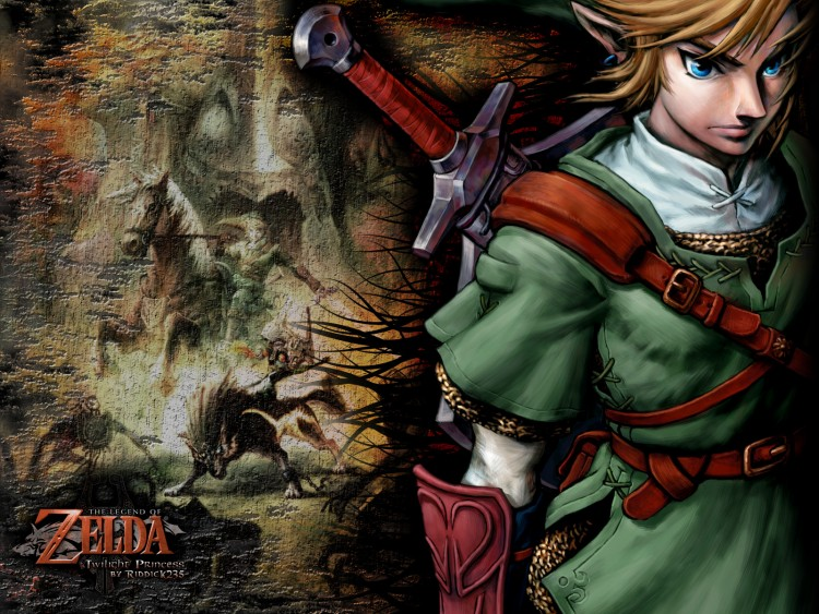 Wallpapers Video Games The Legend of Zelda : Twilight Princess Link - Twilight Princess