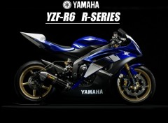 Fonds d'�cran Motos YZF-R6 R-Series