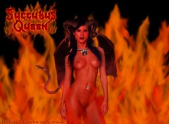 Fonds d'écran Erotic Art Succubus Queen