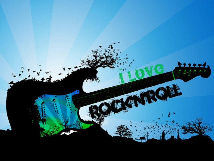 inimtroopiz  rock and roll wallpaper