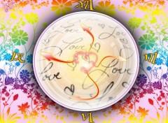 Fonds d'écran Art - Numérique l'horloge del'amour