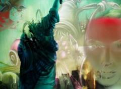Fonds d'écran Art - Numérique New york