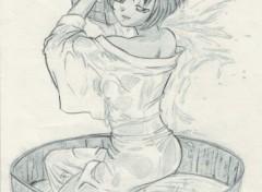 Wallpapers Art - Pencil aoi bain