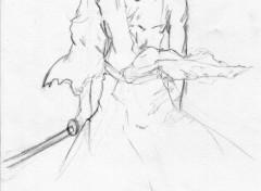 Fonds d'écran Art - Crayon kyo croquis vol 37