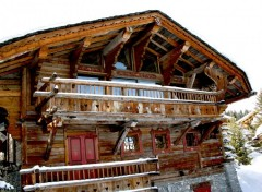 Wallpapers Constructions and architecture Courchevel