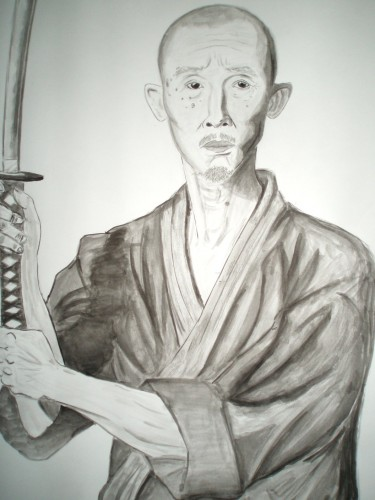 Fonds d'écran Art - Peinture Portraits - Visages Akira Hino