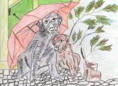 Fonds d'écran Art - Crayon kiki titi