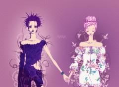Fonds d'écran Manga nana et hachi