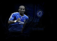 Wallpapers Sports - Leisures Florent Malouda - Chelsea