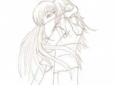 Wallpapers Art - Pencil Couple
