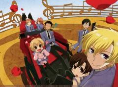 Fonds d'écran Manga carrosse du club d'hote