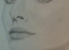 Fonds d'écran Art - Crayon Natalie Portman