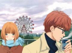 Fonds d'écran Manga Yamada & Mayama