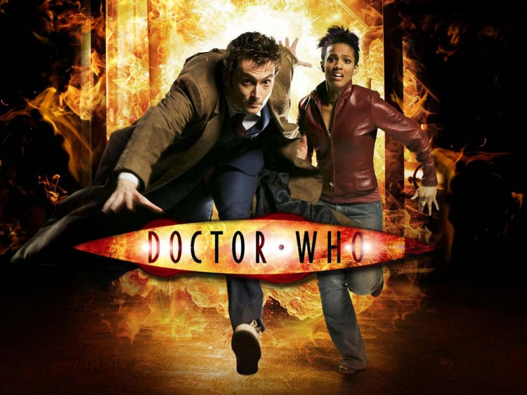 Fonds d'écran Séries TV Doctor Who Un duo explosif