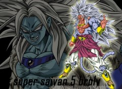 Fonds d'écran Manga BROLY DRAGON BALL AF