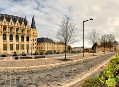 Fonds d'écran Constructions et architecture L' Apostrophe Médiathèque  (28000-Chartres)