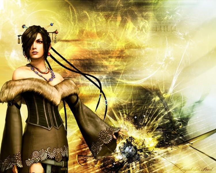 Fonds d'écran Jeux Vidéo Final Fantasy X Lulu