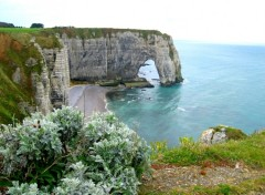 Wallpapers Trips : Europ Etretat, vue sur le rocher