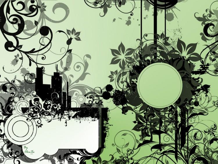 Fonds d'écran Art - Numérique Style Urbain Brush Test