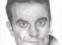 Fonds d'écran Art - Crayon Robbie Williams