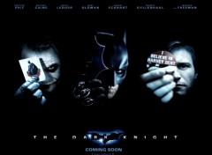Fonds d'écran Cinéma Batman: the dark knight (le chevalier noir) Cinecomics
