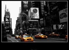 Fonds d'écran Voyages : Amérique du nord Taxi In ColOr