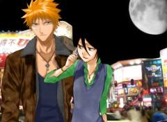 Fonds d'écran Manga In a town