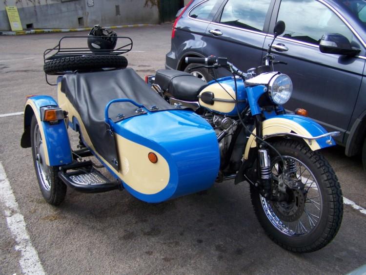 Fonds d'écran Motos BMW Moto-side-car BMW