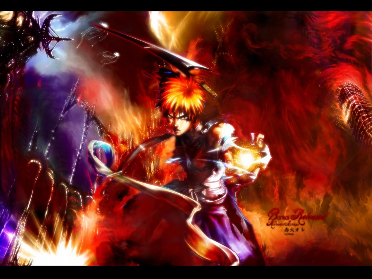 Fonds d 39 cran manga fonds d 39 cran bleach bankai style for Photo ecran bleach