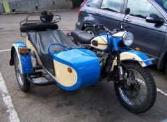 Fonds d'écran Motos Moto-side-car BMW