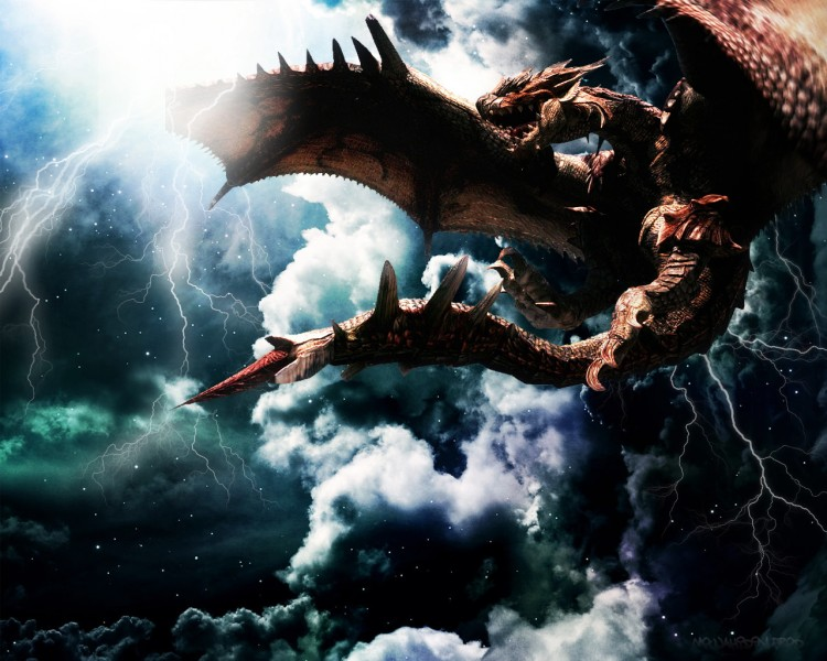 Wallpapers Fantasy and Science Fiction Creatures : Dragons Dragon
