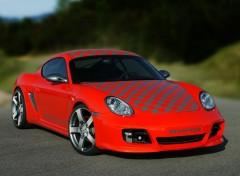 Fonds d'écran Voitures Rinspeed Porsche Imola Cayman 987 (2006)