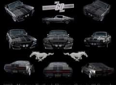 Fonds d'�cran Voitures Mustang Eleanor